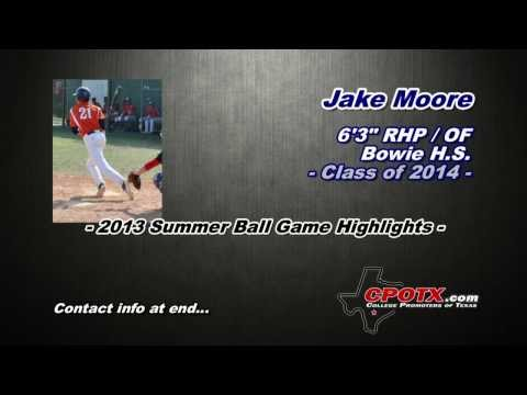 Jake Moore - 2013 Summer Select Ball Game Highlights