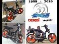 """Derbi Variant Start 49cc con Motor de """" Origen """" con 24 Años y 63.200 km """" Reales """" a 80 km/h"""