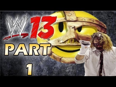 WWE 13 - Attitude Era Mode Walkthrough - Mankind - Part 1 (Gameplay Xbox 360/Ps3)