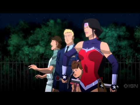 Justice League: War - Trailer Debut, Alan Tudyk, Jason O'Mara, Justin Kirk, Michelle Monaghan, and Sean Astin all lend their voices to this DC Universe Animated Original Movie based on Geoff Johns and Jim Lee's Justice League Vol. 1: Origin.