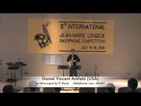3rd JMLISC: Daniel Vincent Arkfeld (USA) Le fre?ne e?gare? by F. Rosse?