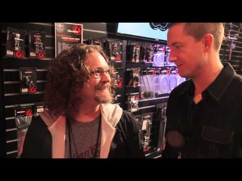 NAMM 2014:  CHRIS FRYAR from Zac Brown Band