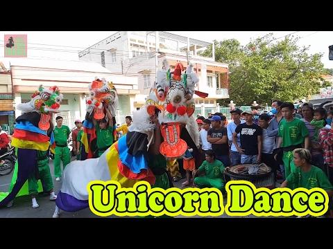 Unicorn Dance Lantern Festival Vietnam 2017 - Mua Ky Lan Thach Son Tai Khanh Duong