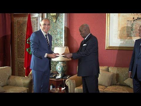 السيد مزوار يستقبل وزير الدولة، وزير العدل الكونغولي حاملا رسالة من الرئيس