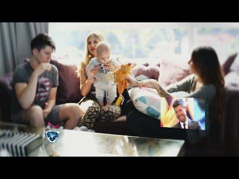 Showmatch 2014 - Una sorpresa para papá: la familia Tinelli emocionó a Marcelo