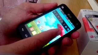 Smartphone LG Optimus L4 II Tri E470 (Trichip) Pros E