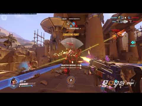 Overwatch Anubis Defense - Sombra