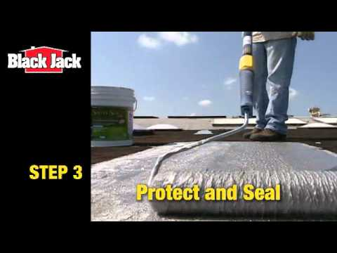 How To Apply Aluminum Roof Coatings Youtube