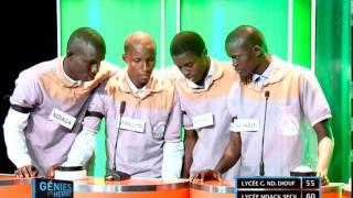 Génies en Herbe | Lycée Coumba Ndoffene Diouf vs Lycée Ndack Seck