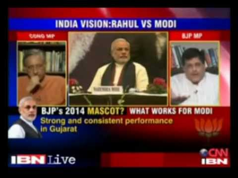 Piyush Goyal in panel discussion on 'Modi's War cry Right vs