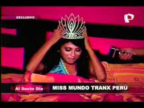 Miss Mundo Tranx Perú
