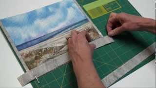 How To Make A Quilt Binding With Butted Corners
