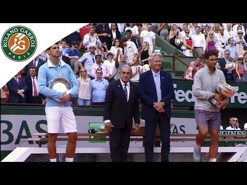Nadal's speech on podium after his 2014 French Open victory