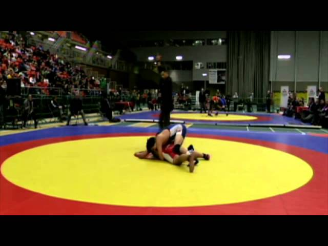 2014 Junior National Championships: 84 kg Final Nishanpreet Randhawa vs. Josh Kim