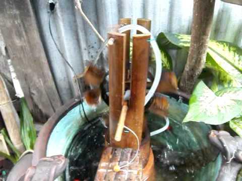 kincir air dari bambu