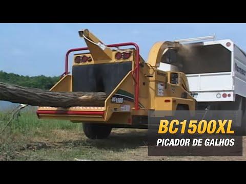 BC1500 Vermeer, picador, triturador de arvore, madeira, tronco, galho, folhagem, forragem