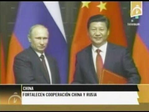 Fortalecen cooperación China y Rusia