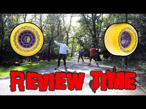 Cult Wheels Creator 72mm 83a Review, Longboard Freeride UK