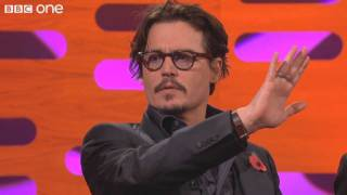 Graham Norton: Johnny Depp's 80 Foot Fireball Bomb
