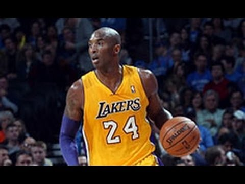 Kobe Bryant Assists Jordan Hill Off Serge Ibaka's Backside