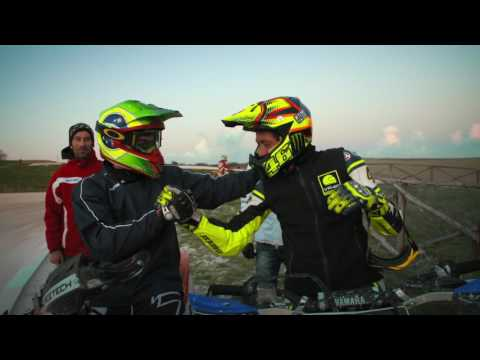 Valentino Rossi and Maverick Viñales #CantStop Competing | One Obsession - Oakley