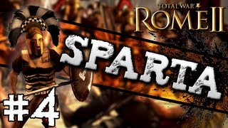 Total War: Rome II: Sparta Campaign #4 ~ Aiming For Athens