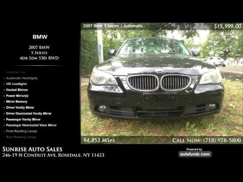 Used 2007 BMW 5 Series | Sunrise Auto Sales, Rosedale, NY