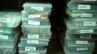 How I Organize My Jewelry Making Supplies