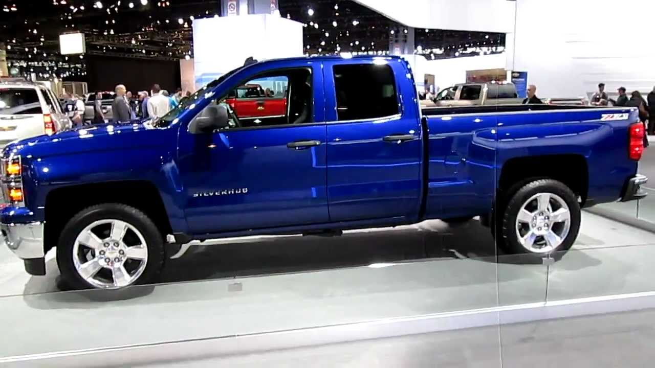 Runde Chevy >> Walkaround video of 2014 Chevy Silverado 1500 extended cab at the 2013 Chicago Auto Show - YouTube
