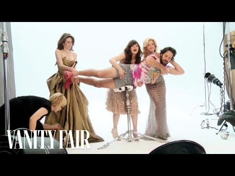 funny photoshoot, Paul Rudd's Vanity Fair Photo Shoot