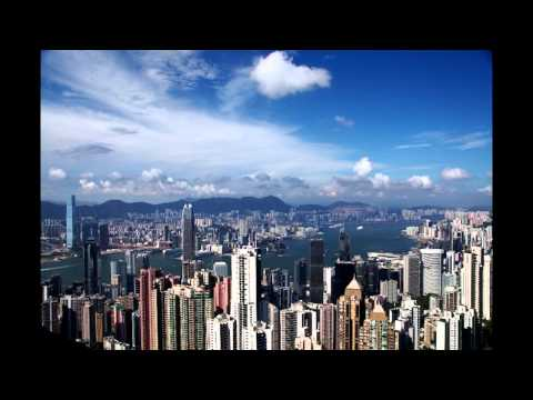 Hong Kong Skyline Time Lapse from the Sky View Terrace 428