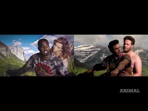 James Franco and Seth Rogan Do Kanye West's Bound 2: See it Side by Side