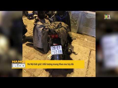 Hà Nội bắt giữ 3 đối tượng mang theo ma túy đá
