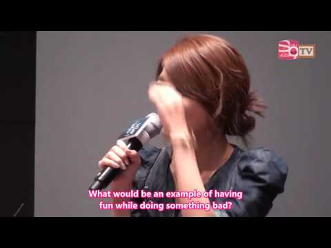 Spot TV Movie 'Pain' Press Conference - Sooyoung Cut [2011.07.21] (en)