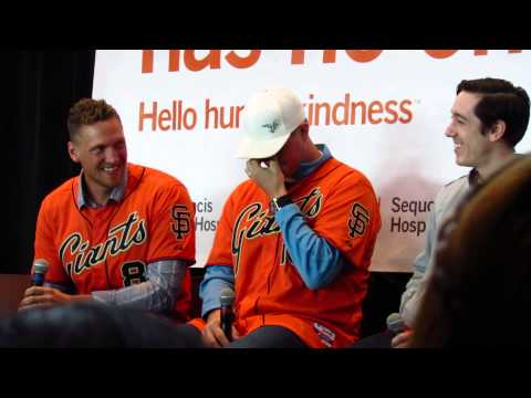 Hunter Pence, Matt Cain, and Tim Lincecum Video Games from 2014 SFGFest