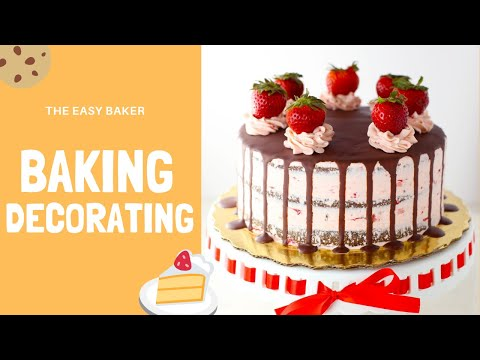 How to bake and decorate cake easily [FUNNY VIDEOS]