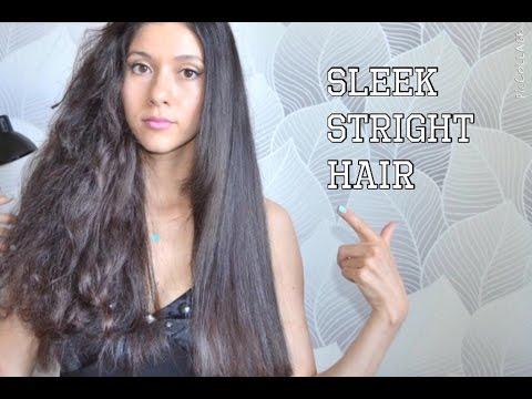Как сделать волосы прямыми парням