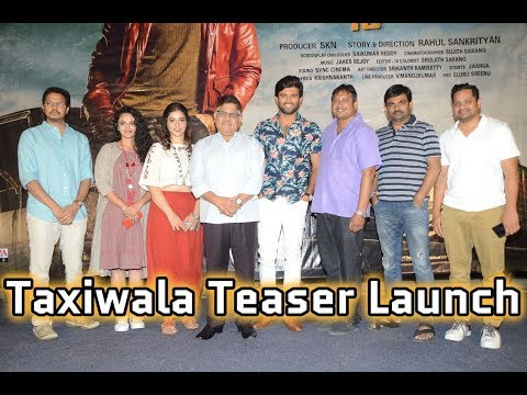 Taxiwala Movie Trailer Launch By Allu Aravind
