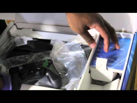 Playstation 4 Unboxing Video @GamerFitnation
