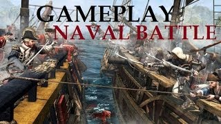 Assassin's Creed 4 Black Flag Gameplay Naval Battle