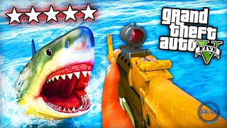 "GTA 5 Funny Moments – ""SHARK ATTACK!"""
