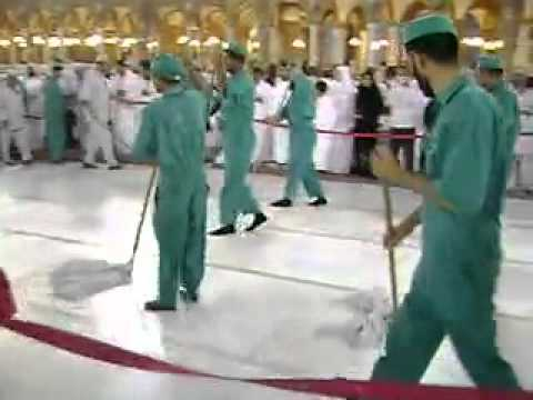 Cleaning of Masjid-e-Haram - KAABA