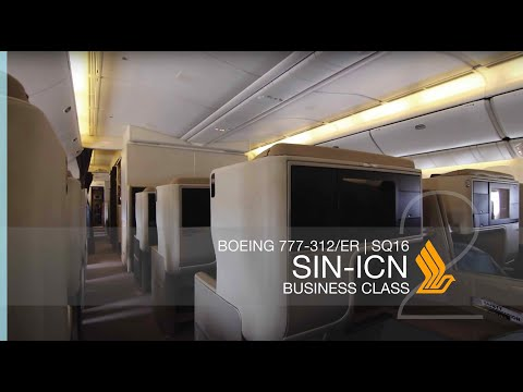 FRP S2E6-1 - Singapore Airlines SQ16 Business Class Experience | Singapore - Seoul