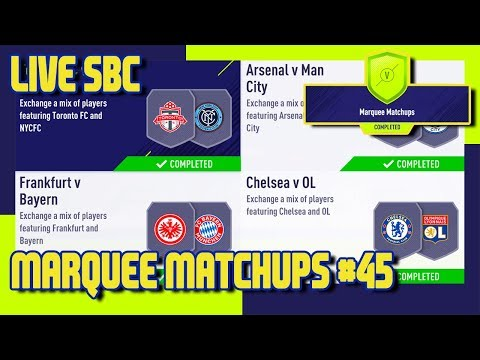 FIFA 18 - Marquee Matchups SBC #45 & Pack Opening