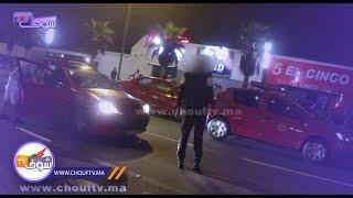 شاب في حــالة غير طبيعية اعترض سبيل سائقي سيارات الأجرة بالبيضاء ليلا | خارج البلاطو