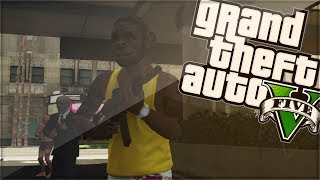 "GTA 5 Online Funny Moments ""THE BANK ROBBERY"" W"