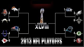 2014 NFL PLAYOFF BRACKET PREDICTIONS