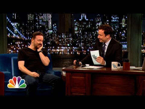Web Exclusive: Ricky Gervais Answers His Twonks