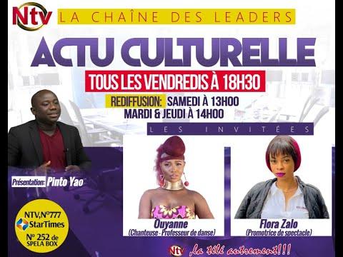 Actu Culturelle reçoit pour vous OUYANE & FLORA ZALLO     #OUYANE #FLORAZALLO #ntvafrique