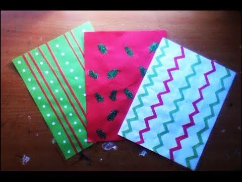Papel scrapbook navide o como hacer hojas decorativas for Cosas decorativas para navidad